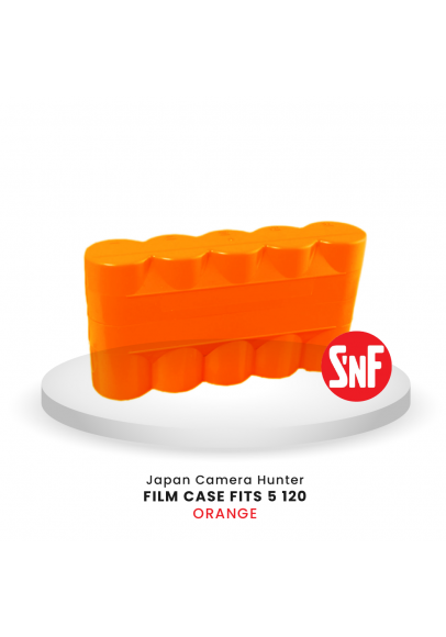 Japan Camera Hunter film case fits 5 roll films 120