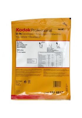 Kodak D-76 BW powder Developer to make 3.8 L