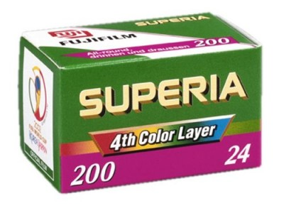 Fuji Film Superia 200 (1 rol 36 exp)