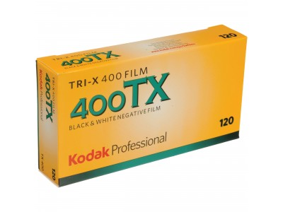 *** Kodak Tri X 400 120 (5 rol/pack) *** Special Offer Exp 08/2018