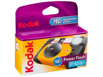 Kodak HD power flash disposable camera exp 06/2020