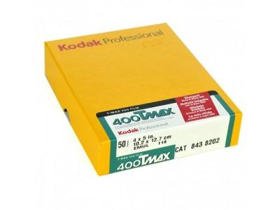Kodak Tmax 400 4x5 (10 lembar) EXP 04/2019