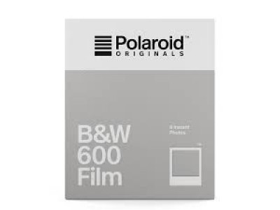 Polaroid B&W 600 instant film 8 Exposure