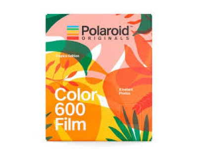 Polaroid Color 600 instant film 8 Exposure Tropic Edition