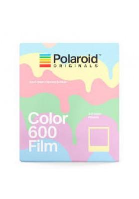 Polaroid Color 600 instant film 8 Exposure Ice Cream Pastels Edition