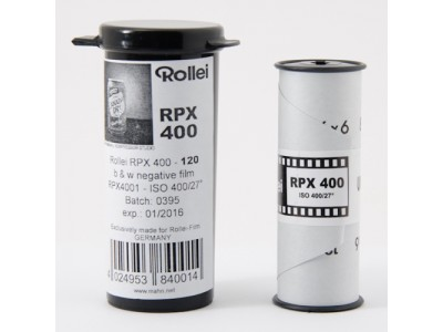 *** Rollei RPX 400 120 (1 rol) *** special offer Exp 03/2018