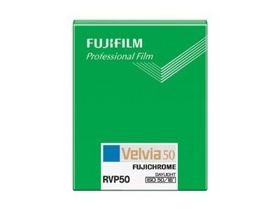 Fuji Velvia 50 4x5 (20 lembar)