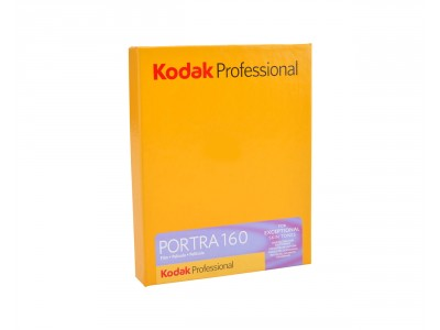 "Kodak Portra 160 sheet film 4x5"" (10.2x12.7cm) 10 sheets"