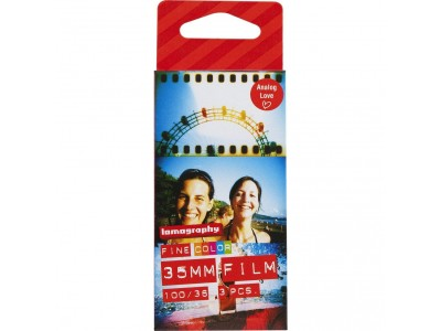 Lomography Color Negative 100 35mm - 36exp Pack of 3