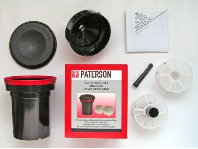 Paterson super system 4 universal developing tank incl. 2 reels