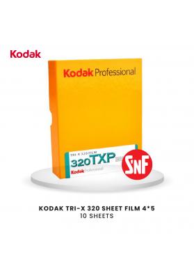 "Kodak TRI-X 320 Planfilm 10,2x12,7cm (4x5"") 10 Blatt"